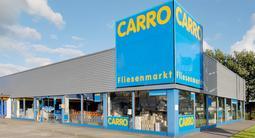 Foto vom Gebäude des CARRO Fliesenmarktes in Flensburg